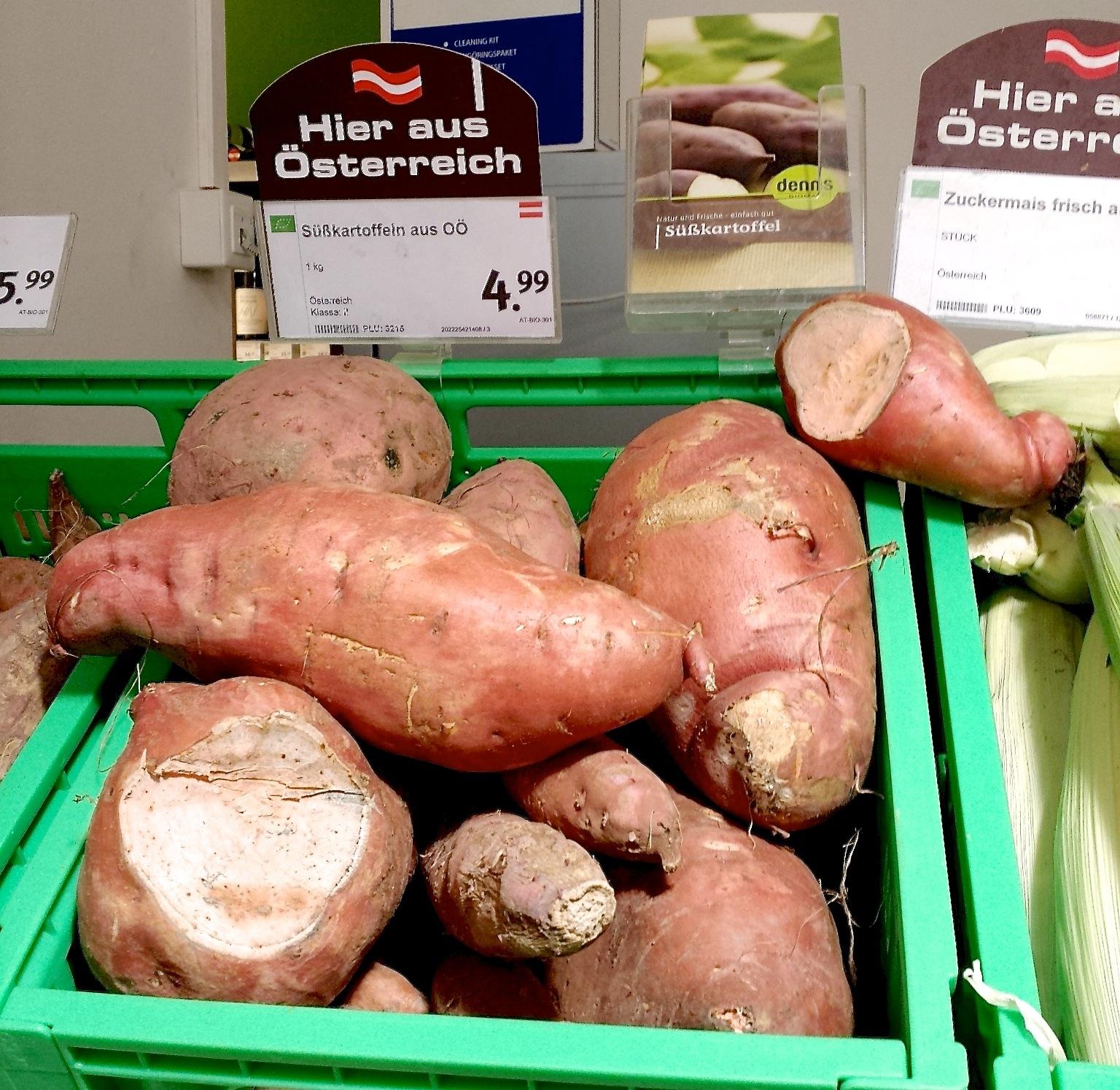 Süßkartoffel kaufen österreich