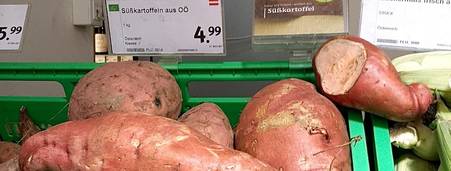 Good News! Süßkartoffeln aus Oberösterreich