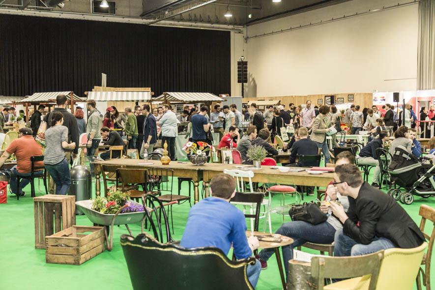 Viele spannende Gespräche und Produzenten am Chefdays-Marktplatz (C) Rolling Pin