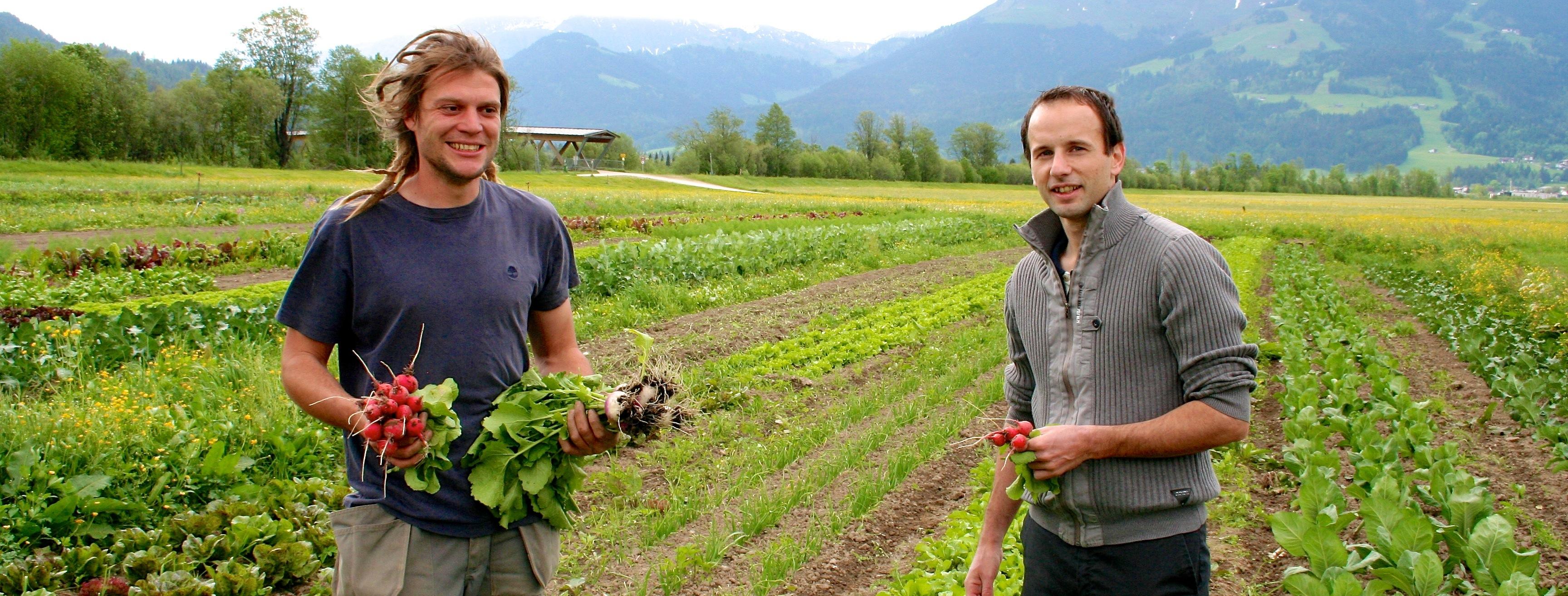Was der Tiroler Boden hergibt: ein Tag mit Stefan Lenz vom Tennerhof Kitzbühel