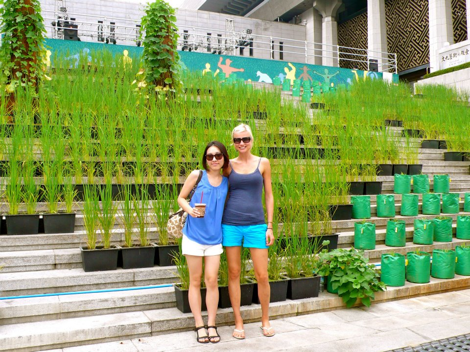 Mit meiner Freundin JiYoung in Seoul