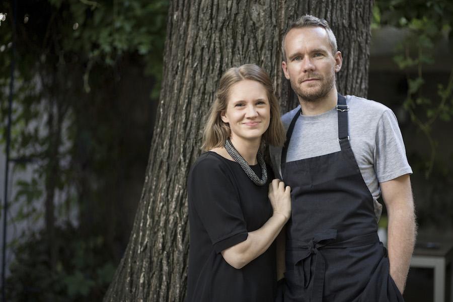 Petra und Oliver Lucas, die Gastgeber im grace. (BIld: Nikola Milatovic)